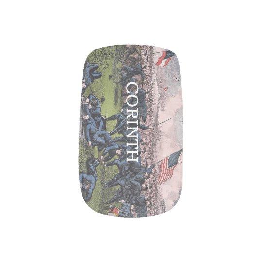 ABH Corinth Minx Nail Art