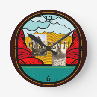 ABH Curecanti Round Clock