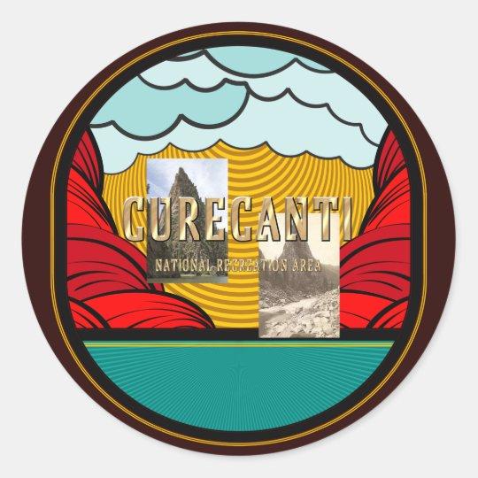 ABH Curecanti Round Sticker