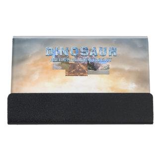 ABH Dinosaur NM Desk Business Card Holder