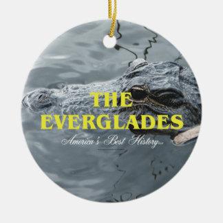 ABH Everglades Ceramic Ornament