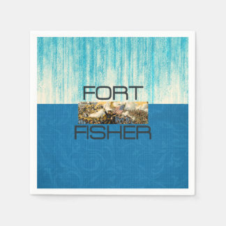 ABH Fort Fisher Paper Napkins