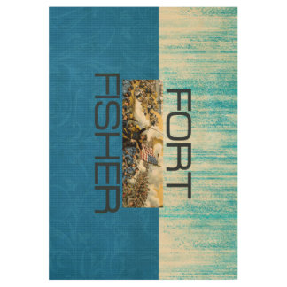 ABH Fort Fisher Wood Poster