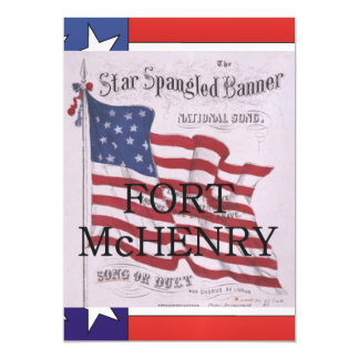 ABH Fort McHenry Magnetic Invitations