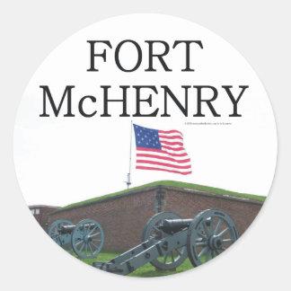 ABH Fort McHenry Round Sticker