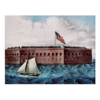 ABH Fort Sumter Postcard