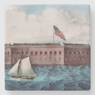 ABH Fort Sumter Stone Coaster
