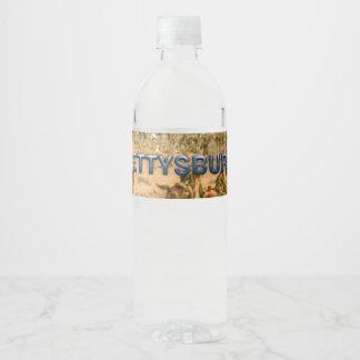 ABH Gettysburg Water Bottle Label