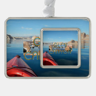 ABH Glen Canyon Silver Plated Framed Ornament