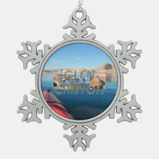 ABH Glen Canyon Snowflake Pewter Christmas Ornament