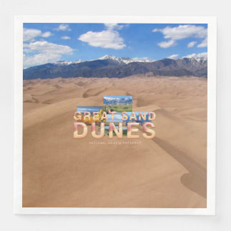 ABH Great Sand Dunes Disposable Napkin
