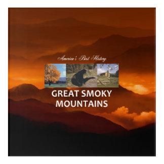 ABH Great Smoky Mountains Acrylic Wall Art