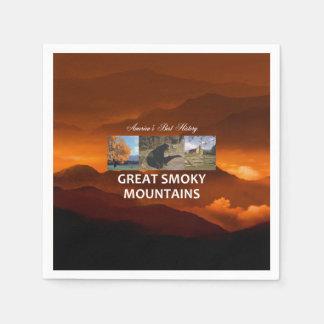 ABH Great Smoky Mountains Disposable Napkins