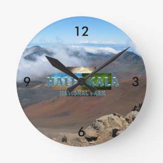 ABH Haleakala Round Clock