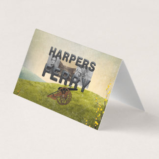 ABH Harpers Ferry Business Card