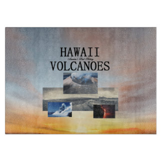ABH Hawaii Volcanoes Cutting Board