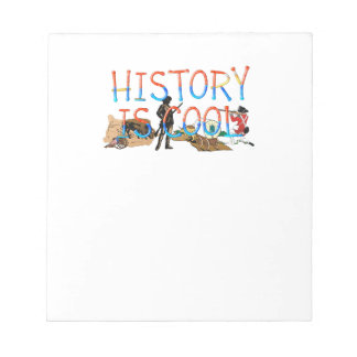 ABH History is Cool Notepad