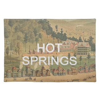 ABH Hot Springs Placemat