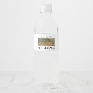 ABH Hot Springs Water Bottle Label