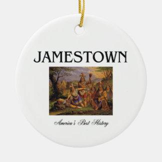 ABH Jamestown Ceramic Ornament