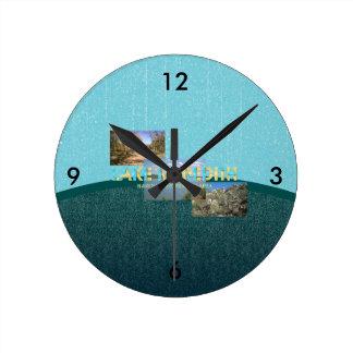 ABH Lake Meredith Round Clock