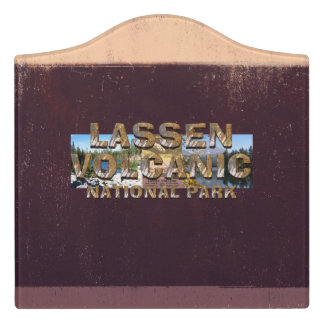 ABH Lassen Volcanic Door Sign