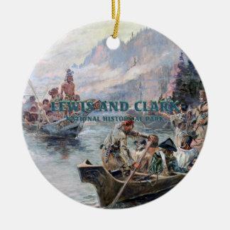 ABH Lewis and Clark NHS Ceramic Ornament