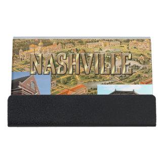 ABH Nashville Desk Business Card Holder
