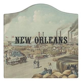 ABH New Orleans Door Sign