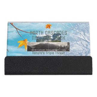 ABH North Cascades Desk Business Card Holder