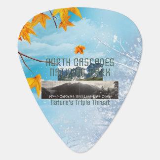 ABH North Cascades Guitar Pick