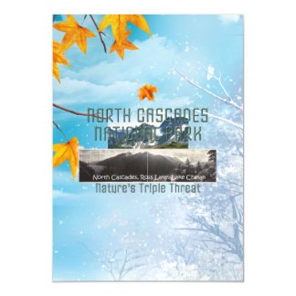 ABH North Cascades Magnetic Invitations