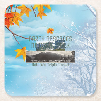 ABH North Cascades Square Paper Coaster