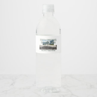 ABH North Cascades Water Bottle Label