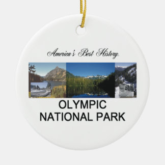 ABH Olympic NP Ceramic Ornament