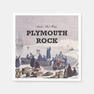 ABH Plymouth Rock Paper Napkin