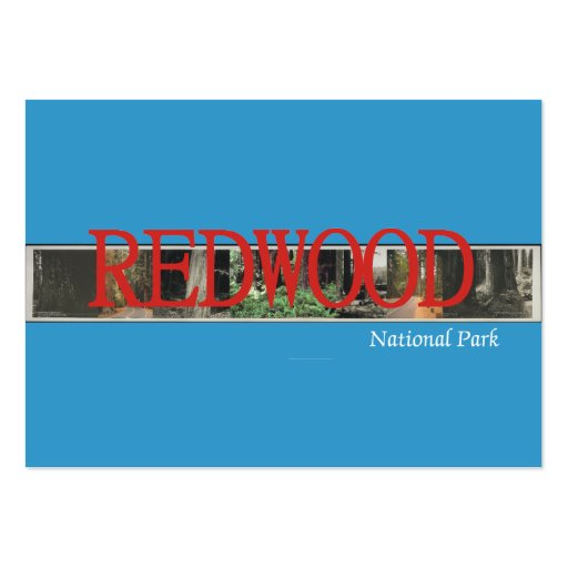 ABH Redwood Large Business Cards (Pack Of 100)