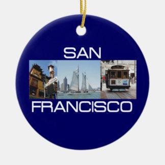 ABH San Francisco Ceramic Ornament