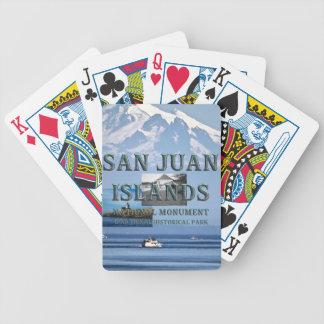 ABH San Juan Islands Bicycle Playing Cards