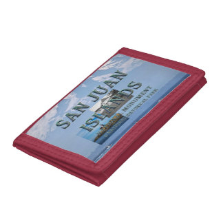 ABH San Juan Islands Tri-fold Wallets