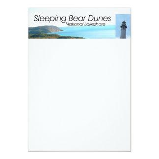ABH Sleeping Bear Dunes 13 Cm X 18 Cm Invitation Card