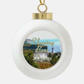 ABH Sleeping Bear Dunes Ceramic Ball Christmas Ornament