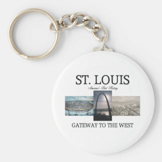 ABH St. Louis Gateway Key Ring