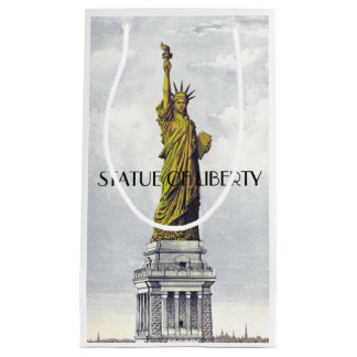 ABH Statue of Liberty Small Gift Bag