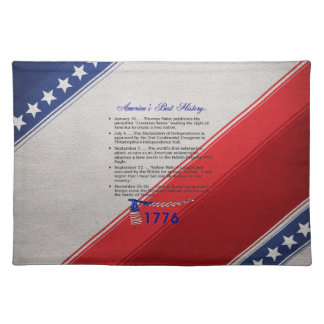 ABH Timeline 1776 Placemat