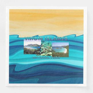 ABH Virgin Islands Disposable Napkin
