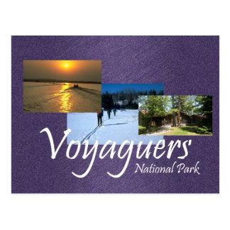 ABH Voyageurs Postcard