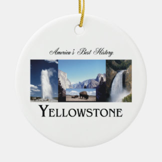 ABH Yellowstone Ceramic Ornament