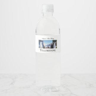 ABH Yellowstone Water Bottle Label