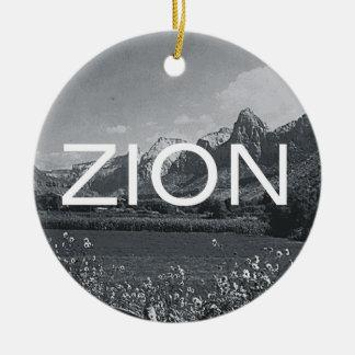 ABH Zion Ceramic Ornament